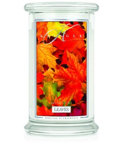 Leaves - Liście (Duża Świeca 2 Knoty)