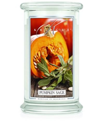 Pumpkin Sage - Dynia i Szałwia (Duża Świeca 2 Knoty)